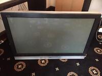 """JVC 42"""" plasma tv with wall bracket"""