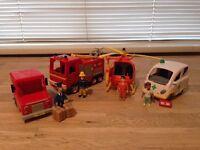 Fireman Sam & Postman Pat toys