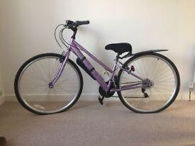 Ladies / Girls Hybrid Bike with extras