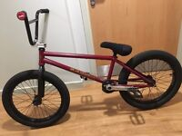 Federal Bruno 21.1 Custom BMX, Frame nearly new HIGH SPEC