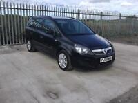 2009/09 VAUXHALL ZAFIRA 1.6 LIFE ONLY 64,000 MILES LONG M.O.T 7 SEATER DRIVES GREAT...