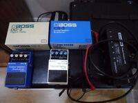 boss guitar effect pedals