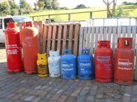 Gas Bottles – Butane & Propane. Calor Gas. Out Door Patio Heater. Camping. Welding. BBQ