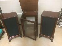 Hi Fi and speaker cabinets