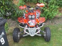 Road Legal Quad Honda trx 440 ex with all the extras lots of money spent...
