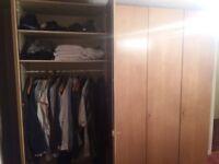 Bedroom suite, wardrobes, bed, dressing table, side drawers