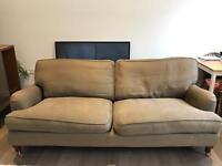 Three seater bluebell sofa
