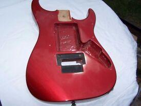 Jackson Guitar Body.