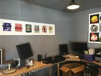 Office/Studio share for up to two people in safe/quiet creative space in central Norwich