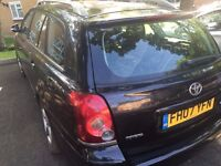 toyota avensis selling at it is spare or repair 2007 diesel car d4d