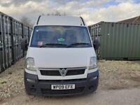 Vauxhall, MOVANO, Panel Van, 2009, Manual, 2463 (cc)
