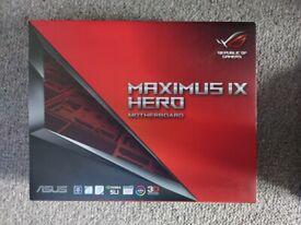 Intel i5 7600K + Asus Maximus IX Hero Z270 motherboard