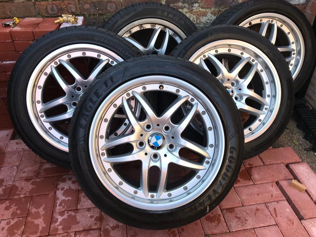 Bmw E39 17 Style 71 Alloy Wheels Cromodora Clubsport 2