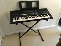Yamaha PSR E433 Keyboard, Stand & Carry Case