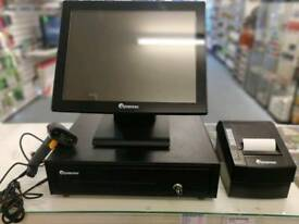 EPOS NOW PRO C15 TOUCH SCREEN, CASHDRAW, RECIEPT PRINTER AND BARCODE SCANNER