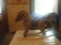 Chad Valley Rocking Horse - Dobbin