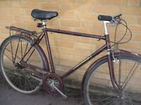 Raleigh Connoisseur town bike - Medium - ready to ride - central Oxford