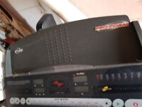 rarely used 16mph proform treadmill & trainer/bicycle, weider full multi-gym, punch bag & pads