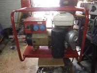 honda powered 3kva generator