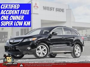 2013 Acura RDX Base–Accident Free–Low KMs–One Owner–3.5L–AWD–