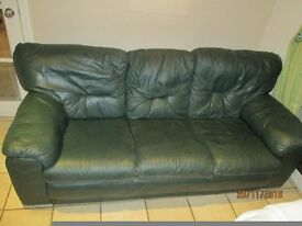 leather sofa for sale £50