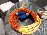 caravan/ tent hook-up cable