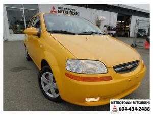 2006 Chevrolet AVEO 5 LS; Local & no accidents! LOW KMS!
