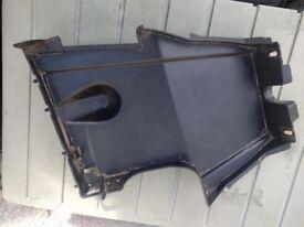 SYM Symply Rear Under Tray Tank Panel Fairing Cover