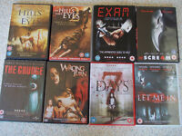 Assorted Horror Films
