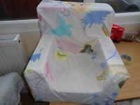 Frozen foam chair