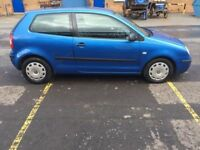 VOLKSWAGEN POLO 1.2 S 3dr (blue) 2003