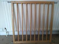 Wooden Babydan Safety Gate