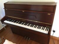 Kemble Upright Piano (Immaculate Satin Mahogany)