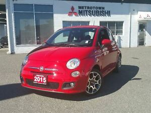 2015 Fiat 500 Sport; No accidents