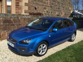 2007 Ford Focus 1.8 Zetec Climate 5dr - low mileage, great condition, new DAB stereo, 12 months MOT!