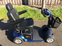 Pride Colt Plus (SC710) Mobility Scooter Blue