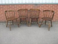 22 Solid wood orignal chairs for bar or cafe