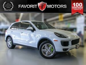 2016 Porsche Cayenne S, Loaded, Electric/Gas, MTO Green Plate!