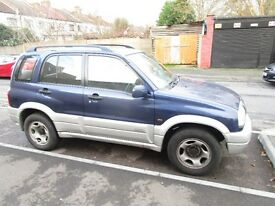 SUZUKI grand vitara, 2003. ( BREAKING FOR PARTS )