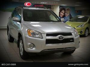 2012 Toyota RAV4 V6 Limited - Moonroof, Heated Seats, Leather