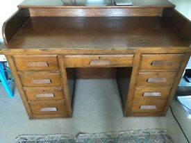 Vintage desk - perhaps from the 1940's/1960's