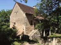 A charming traditional stone-built C15 restored house in rural SW France