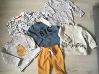 Baby boys outfits / tops bundle NEW up to 1 month