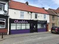 Commercial Property Shop with A3 use in Bishop Auckland Market Place City Centre County Durham