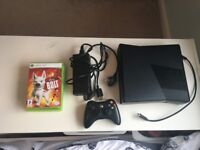 working xbox 360, 3 games and 1 controller