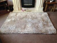 Beautiful Lounge RUG from Dunelm Mill. Champagne. 120x170cm. Design; Indulgence.