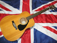 Yamaha FG-340 Acoustic Guitar, Bradford City Centre