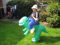 12 Inflatable dinosaur fancy dress costumes - adult size
