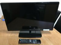 "Logik 24"" inch LCD HD TV with HD freeview built in."