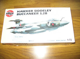 "Airfix Buccaneer"" Kit, plus a Walrus Amphibian Kit - both 1/72 scale"